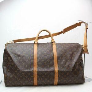 Auth Louis Vuitton Keepall 60 Travel Bag #1794L33